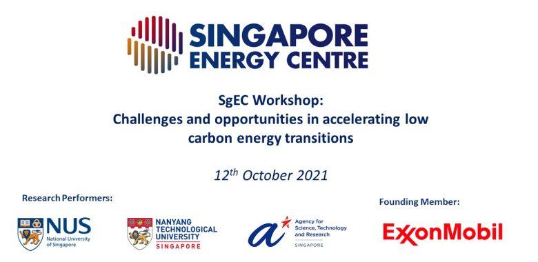 SgEC workshop title slide